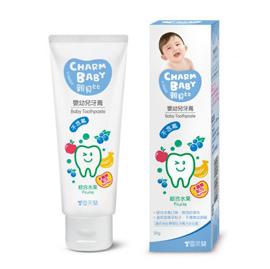 【悅兒樂婦幼用品舘】親貝比 雪芙蘭嬰幼兒牙膏-綜合水果(木醣醇配方) 50g