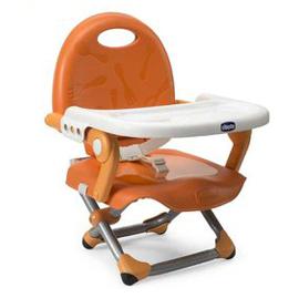 【悅兒園婦幼生活館】Chicco Pocket Snack攜帶式輕巧餐椅座墊(橙橘)