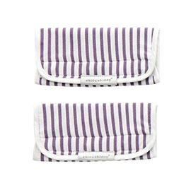 【悅兒樂婦幼用品舘】奇哥 揹巾口水巾(2入)-紫色