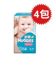 【悅兒樂婦幼用品舘】HUGGIES 金好奇 護膚乾爽pH5.5紙尿褲(XL)40+4片x4包入