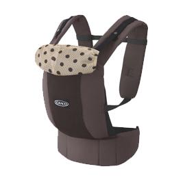 【悅兒樂婦幼用品舘】GRACO 嬰幼兒腰帶型前後式雙向揹巾Roopop-巧克力糖