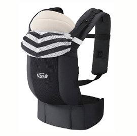 【悅兒樂婦幼用品舘】GRACO 新生兒腰帶型4用途外出揹巾 Roopop Zero-月城堡