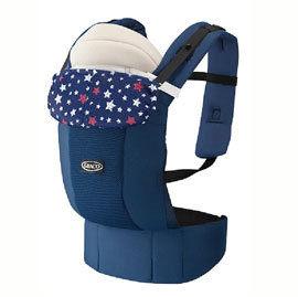 【悅兒樂婦幼用品舘】GRACO 新生兒腰帶型4用途外出揹巾 Roopop Zero-滿天星