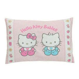 【悅兒樂婦幼用品舘】HELLO KITTY 寶寶枕