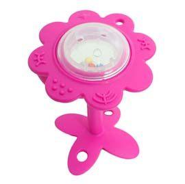 【悅兒樂婦幼用品舘】美國Innobaby 寶寶固齒器玩具(粉)
