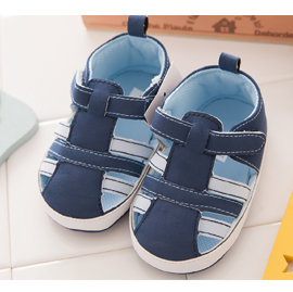 【悅兒園婦幼生活館】NikoKids 磨砂底學步鞋 SG-225 藍色 (無鞋盒)