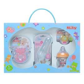 【悅兒樂婦幼用品舘】Nuby 幸福寶貝禮盒
