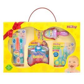 【悅兒樂婦幼用品舘】Nuby 歡樂寶貝禮盒