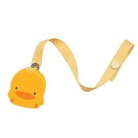 【悅兒樂婦幼用品舘】Piyo 黃色小鴨 造型奶嘴鍊