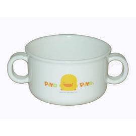 【悅兒樂婦幼用品舘】Piyo 黃色小鴨 雙耳湯杯(微波爐專用