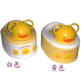 【悅兒樂婦幼用品舘】Piyo 黃色小鴨 兩段式功能造型幼兒便器