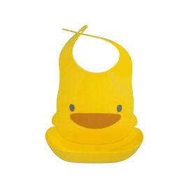 【悅兒樂婦幼用品舘】Piyo 黃色小鴨 四階段防水圍兜