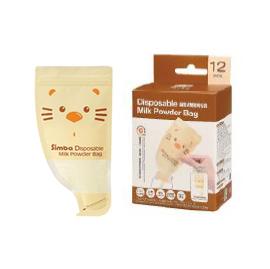 【悅兒樂婦幼用品舘】Simba 小獅王 拋棄式雙層奶粉袋(12入)