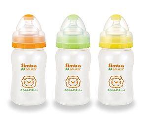 【悅兒樂婦幼用品舘】Simba 小獅王 辛巴PP寬口葫蘆小奶瓶210ml