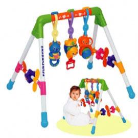 【悅兒樂婦幼用品舘】Toy Royal 樂雅 新四腳健力架