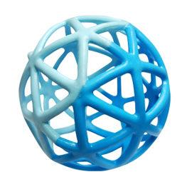 【悅兒樂婦幼用品舘】Toy Royal 樂雅 魔法洞洞球(海洋藍)