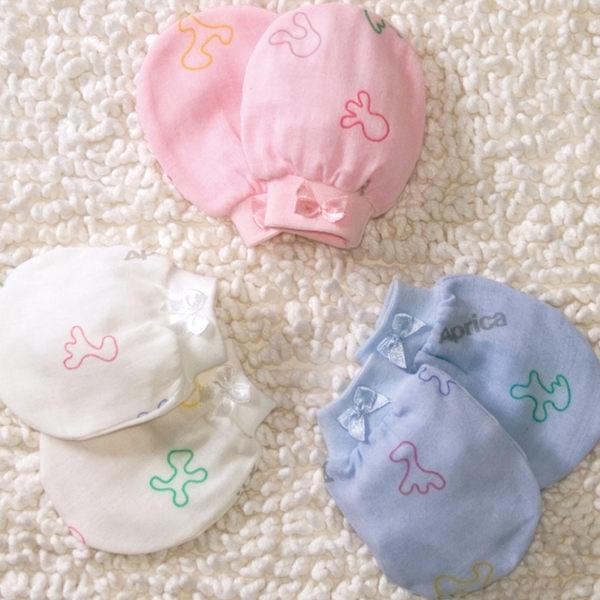 【悅兒樂婦幼用品舘】Aprica 愛普力卡 幸福紗布手套