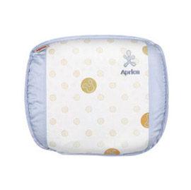 【悅兒樂婦幼用品舘】Aprica 愛普力卡 透氣舒壓嬰幼兒乳膠護頭枕-元氣藍