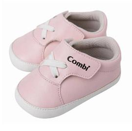 【悅兒樂婦幼用品舘】Combi 康貝 優雅風寶寶鞋-粉