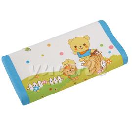 【悅兒樂婦幼用品舘】Combi 康貝 Kuma Kun科技乳膠嬰兒枕頭(藍色)