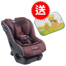 【悅兒樂婦幼用品舘】Combi 康貝 News Prim Long EG 汽車安全座椅-香榭褐【送Kuma Kun護頭枕x1】