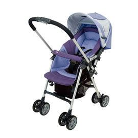 【悅兒樂婦幼用品舘】Combi 康貝 Spazio SZ-300Z雙向嬰兒手推車-紫羅蘭