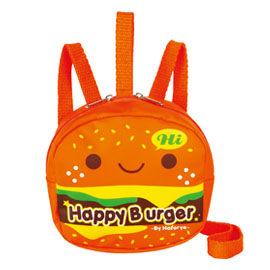 【悅兒樂婦幼用品舘】naforye 拉孚兒 幼兒防走失安全背包--漢堡