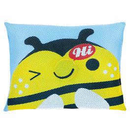 【悅兒樂婦幼用品舘】naforye 拉孚兒 會呼吸的透氣枕頭-蜜蜂