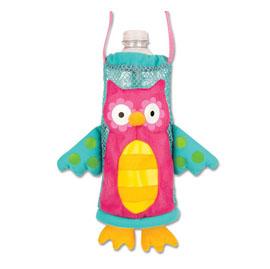 【悅兒樂婦幼用品舘】美國 Stephen Joseph 兒童造型水壺袋-花花貓頭鷹