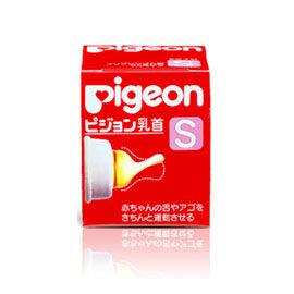 【悅兒樂婦幼用品舘】PIGEON 貝親 乳膠奶嘴S 一般口徑