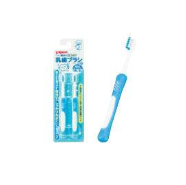 【悅兒樂婦幼用品舘】PIGEON 貝親 第四階段訓練牙刷-2入 (藍)