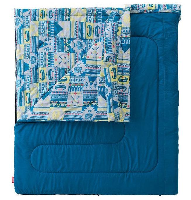 【鄉野情戶外專業】 Coleman  美國   2 in 1 C5 家庭睡袋/信封型睡袋 化纖睡袋 可雙拼連接/CM-27257M000 (舒適溫度:5℃)