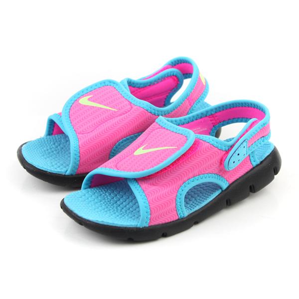 NIKE 涼鞋 童鞋 粉藍色 小童 no391