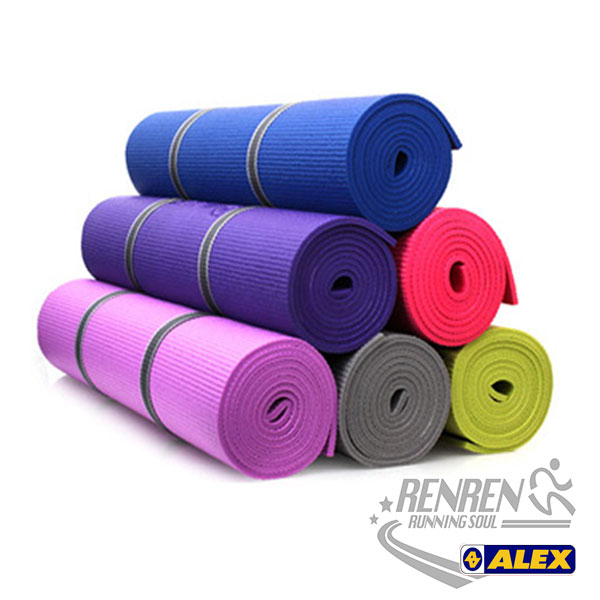 ALEX丹力 瑜珈墊 (共五色) 瑜珈老師指定 止滑吸震 攜帶方便  附背袋