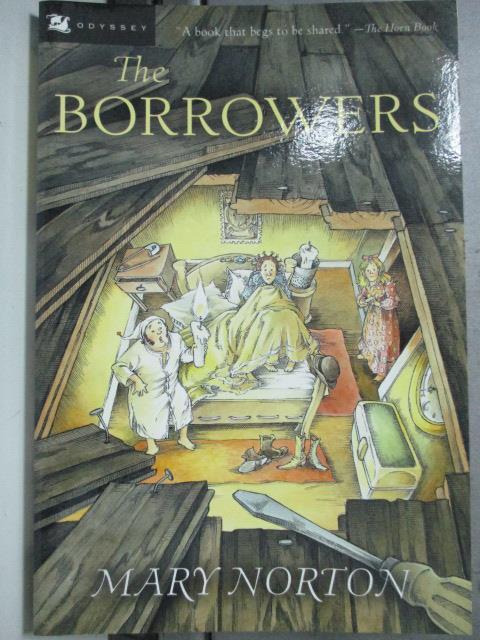 【書寶二手書T1/原文小說_HDG】The Borrowers_Mary Norton, Mary Norton