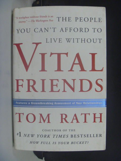 【書寶二手書T8/心靈成長_JGL】Vital Friends_Rath, Tom