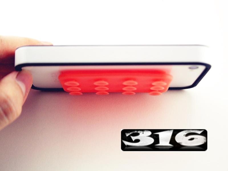 《316小舖》【GA11】(手機平版防滑墊-24孔防滑貼-單件價 /雙面手機防滑貼/雙面平版防滑貼/通用防滑墊)
