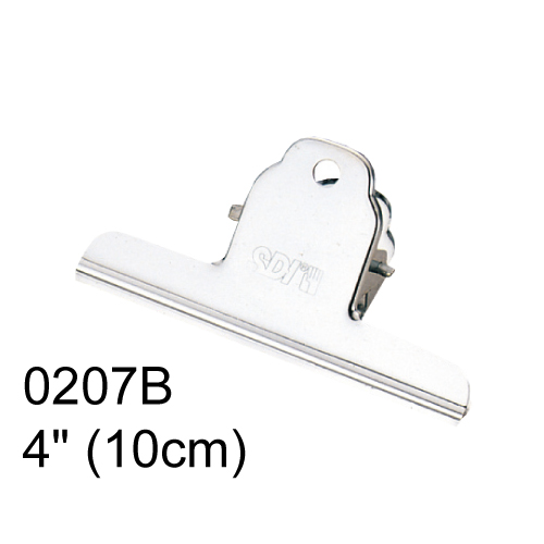【SDI 手牌 山型夾】4吋 (10cm) 0207B 山型夾 (12支/盒)