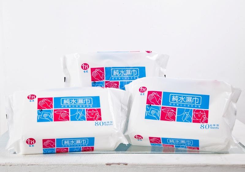『121婦嬰用品館』免運*台農 純水濕紙巾80抽/12包/箱