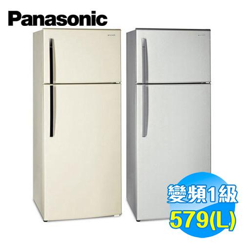 國際 Panasonic 579公升雙門變頻冰箱 NR-B585TV