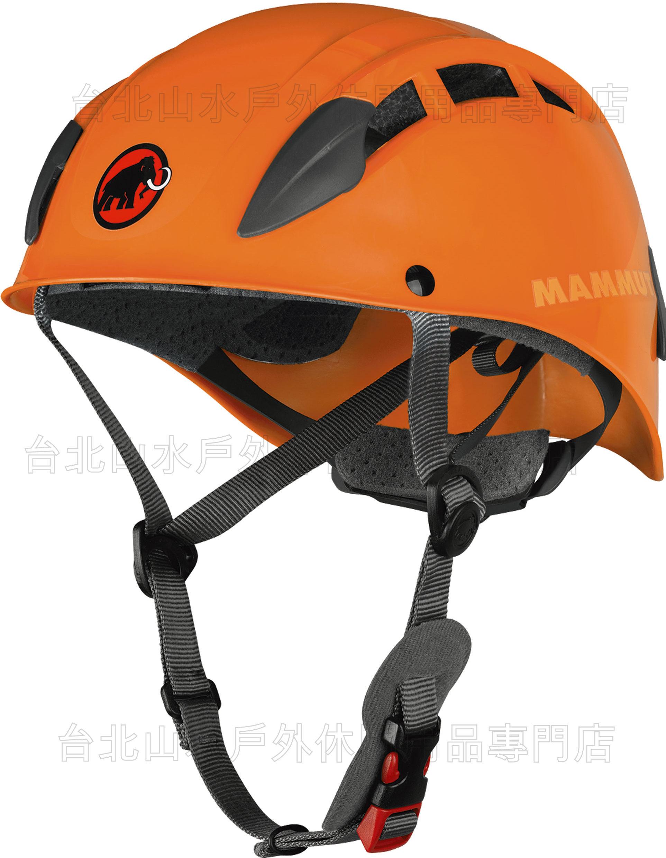 Mammut 長毛象 Skywalker 2 Helmet 瑞士Mammut 長毛象 頭盔/岩盔 橘色 2220-00050