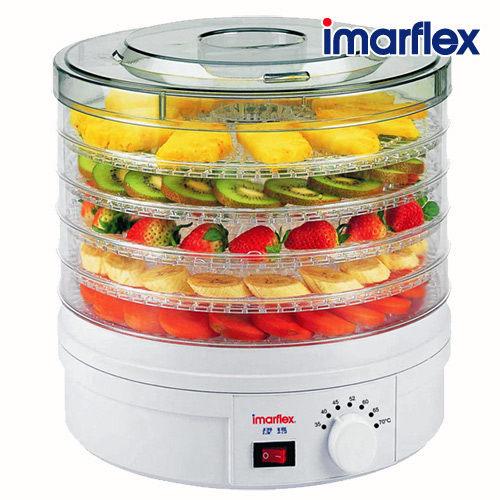 【威力家電】 【分期0利率+免運】日本伊瑪 五層式低溫烘培溫控乾果機 IFD-2502