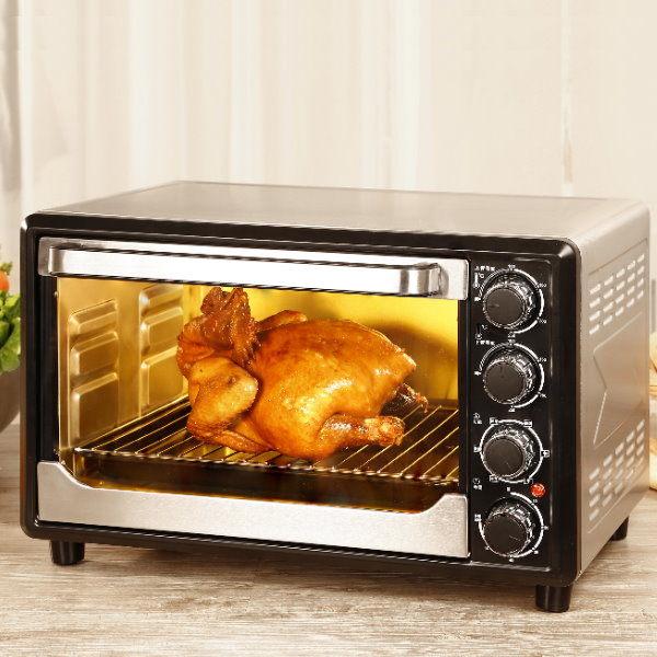【威利家電】【分期0利率+免運】鍋寶33L雙溫控不鏽鋼旋風烤箱(OV-3300)