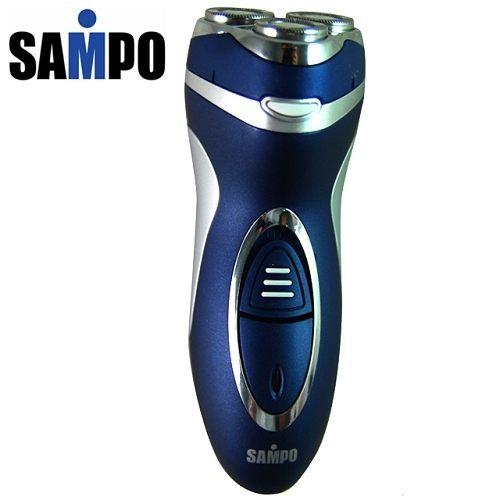 【威利家電】SAMPO 聲寶 三刀頭刮鬍刀 彈性貼面刀頭 EA-Z1012L