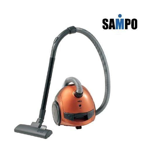 【威利家電】【刷卡分期零利率+免運費】SAMPO 聲寶橫臥式350W吸塵器(EC-AJ35)