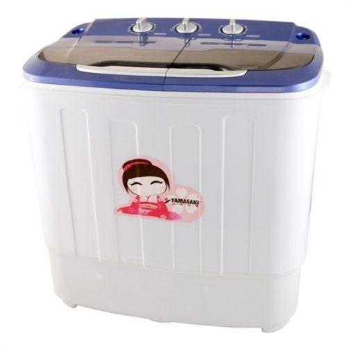 【威利家電】YAMASAKI山崎家電 優賞雙槽3.2KG洗衣機 /小物洗衣 SK-3510W