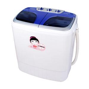 【威利家電】日本山崎優賞雙槽洗衣機SK-3250S ~首創保固期間內全國到府服務~