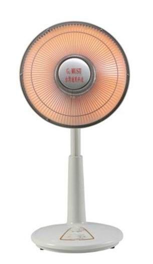 台灣通用科技12吋鹵素燈電暖器GM-3512