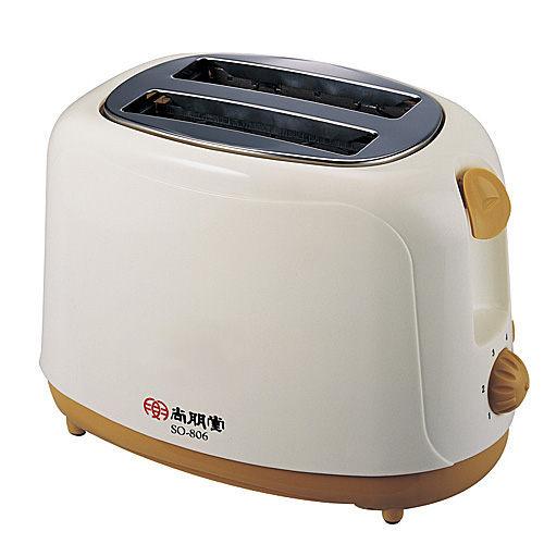 【威利家電】尚朋堂 電子式烤麵包機 SO-806