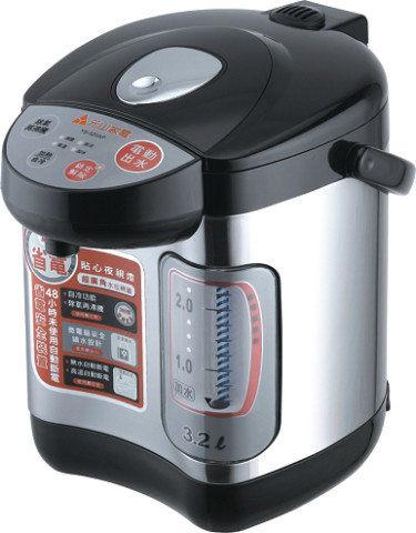 【威利家電】【刷卡分期零利率+免運費】元山 3.2 L微電腦除氯防火電熱水瓶 YS-520AP